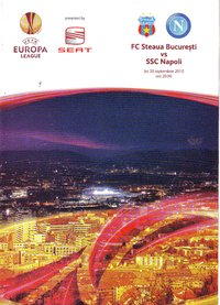 Steaua Bucharest v SSC Napoli - Europa League - 30.09.10