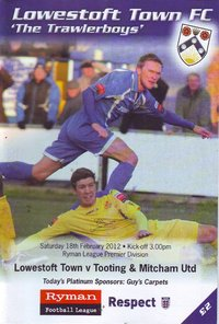Lowestoft Town v Tooting & Mitcham United - League - 18.02.12