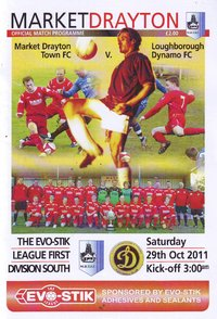Market Drayton Town v Loughborough Dynamo - League - 29.10.11