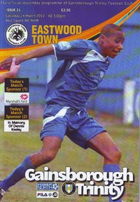 Gainsborough Trinity v Eastwood Town - League - 24.03.12