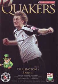 Darlington v Barnet - League - 20.03.10