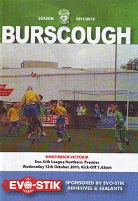 Burscough v Northwich Victoria - League - 12.10.11