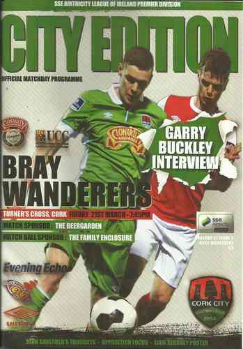 Cork City v Bray Wanderers - League - 21.03.14