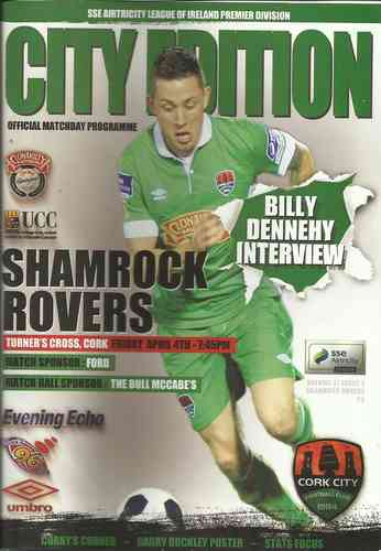 Cork City v Shamrock Rovers - League - 04.04.14