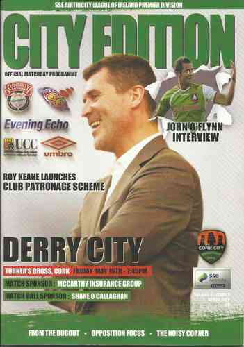 Cork City v Derry City - League - 16.05.14