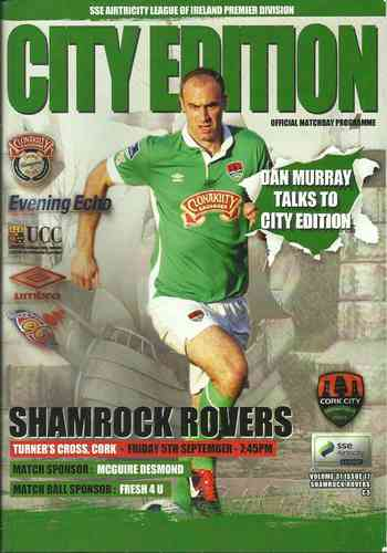 Cork City v Shamrock Rovers - League - 05.09.14