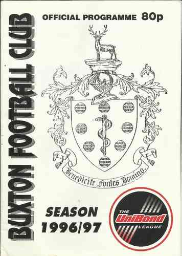 Buxton v Grantham Town - FA Trophy - 09.12.96