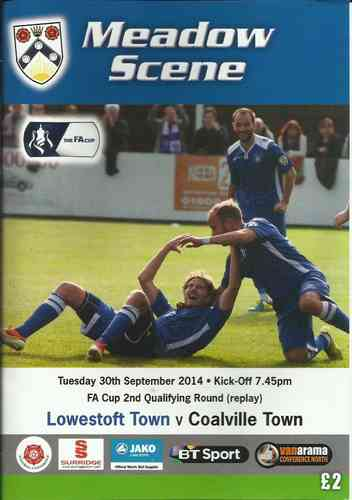 Lowestoft Town v Coalville Town - FA Cup - 30.09.14