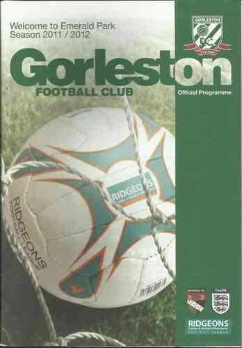 Gorleston v Stanway Rovers - League - 03.12.11