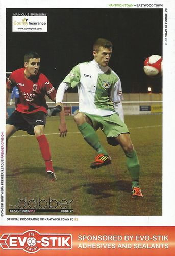 Nantwich Town v Eastwood Town - League - 06.04.13