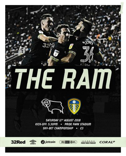 Derby County v Leeds United - League - 11.08.18