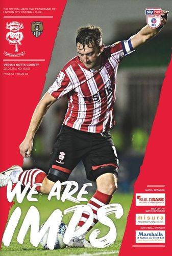 Lincoln City v Notts County - League - 25.08.18