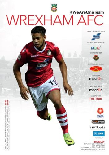 Wrexham v Bromley - League - 25.08.18