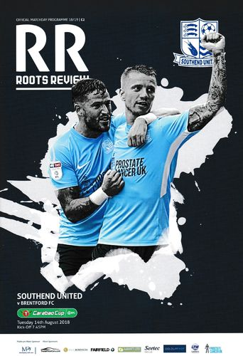 Southend United v Brentford - Carabao Cup - 14.08.18
