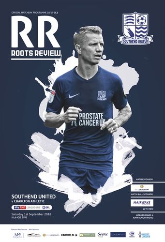 Southend United v Charlton Athletic - League - 01.09.18