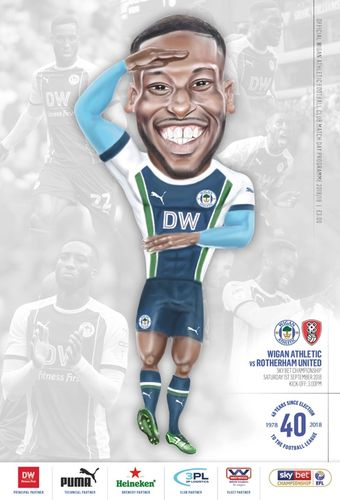 Wigan Athletic v Rotherham United - League - 01.09.18