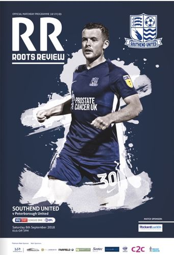 Southend United v Peterborough United - League - 08.09.18