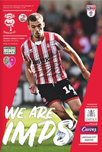 Lincoln City v Crawley Town - League - 08.09.18