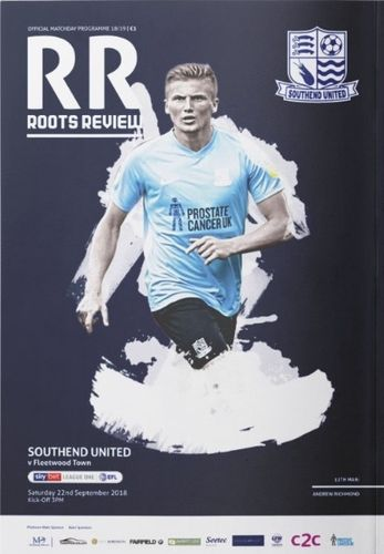 Southend United v Fleetwood Town -League - 22.09.18