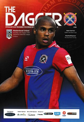 Dagenham & Redbridge v Maidenhead United - League - 11.08.18