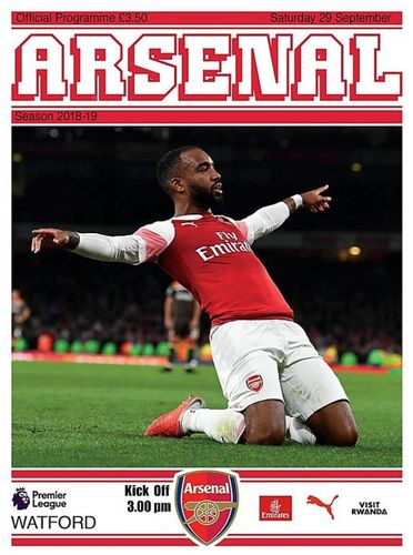Arsenal v Watford - League - 29.09.19