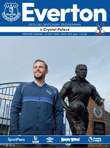 Everton v Crystal Palace - League - 21.10.18
