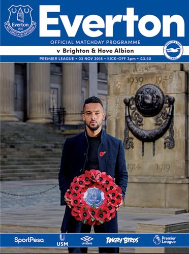 Everton v Brighton & Hove Albion - League - 03.11.18