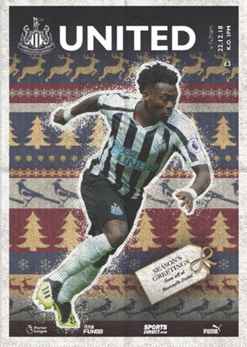 Newcastle United v Fulham - League - 22.12.18