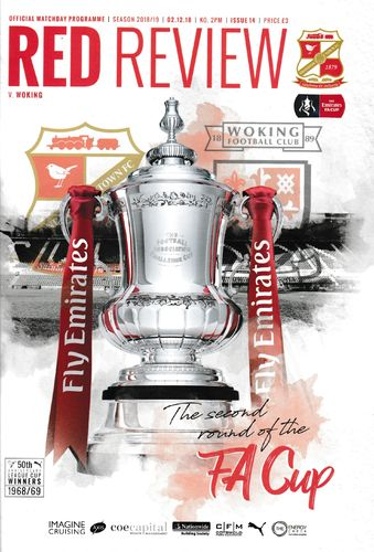 Swindon Town v Woking - FA Cup - 02.12.18