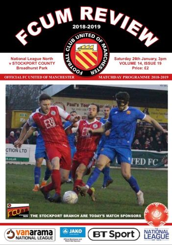 FC United of Manchester v Stockport County - League - 26.01.19