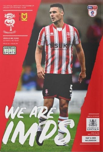 Lincoln City v MK Dons - League - 22.09.18