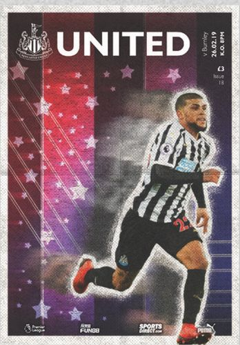 Newcastle United v Burnley - League - 26.02.19