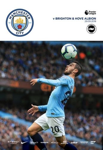 Manchester City v Brighton & Hove Albion - League - 29.09.18