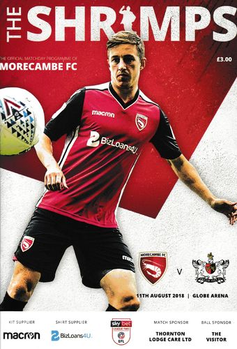 Morecambe v Exeter City - League - 11.08.18
