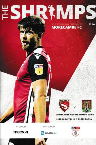 Morecambe v Northampton Town - League - 21.08.18