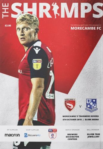 Morecambe v Tranmere Rovers - League - 06.10.18