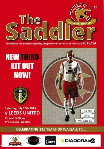 Walsall v Leeds United - Friendly - 20.07.13