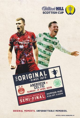 Aberdeen v Celtic - Scottish Cup Semi-Final - 14.04.19