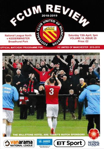 FC United of Manchester v Kidderminster Harriers - League - 13.04.19
