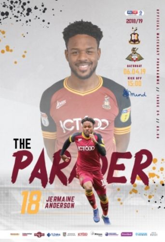 Bradford City v Doncaster Rovers - League - 06.04.19
