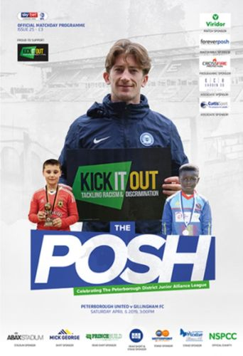 Peterborough United v Gillingham - League - 06.04.19