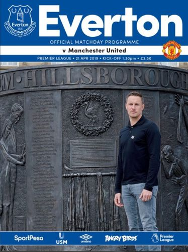 Everton v Manchester United - League - 21.04.19