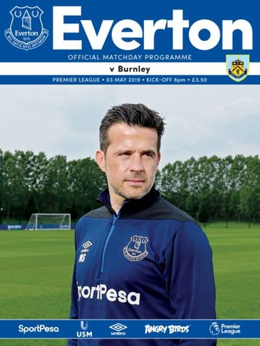 Everton v Burnley - League - 03.05.19