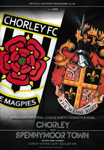 Chorley v Spennymoor Town - National League North Play Off Final - 12.05.19