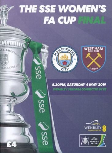 Manchester City v West Ham United - Women's FA Cup Final - 04.05.19