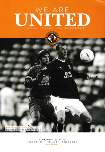 Dundee United v Watford - Friendly - 25.07.15