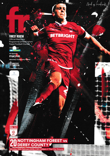 Nottingham Forest v Derby County - League - 25.02.19