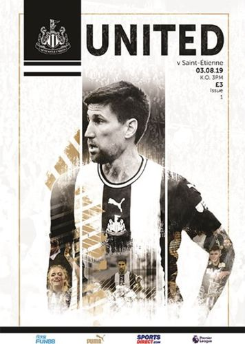 Newcastle United v Saint-Etienne - Friendly - 03.08.19