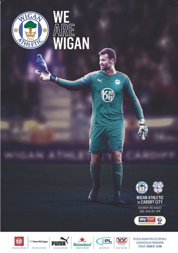 Wigan Athletic v Cardiff City - League - 03.08,19