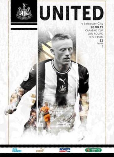 Newcastle United v Leicester City - Carabao Cup - 28.08.19